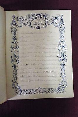 Rare 1843-45 SCOTT'S BIBLE 3 Volumes 4
