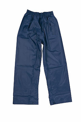 DRY KIDS Waterproof Over Trousers Rain Children Boys & Girls Childs age 2-13 5