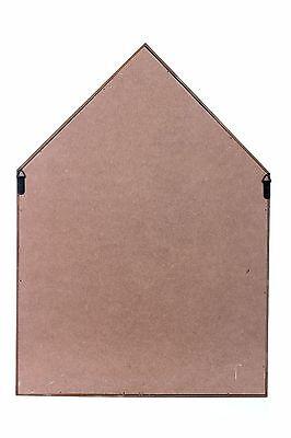 Storage Floating Unit Wall Cube Key Letter Rack Display Wooden Shelf House Shape 3