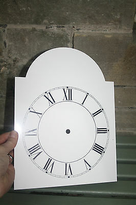 Vintage Enamel Style Clock Face   Replacement Painted On Aluminium Vvgc 9
