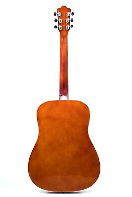 Rio 41'' Full Size 4/4 Beginner Dreadnought Acoustic Guitar Pack Package SB 3