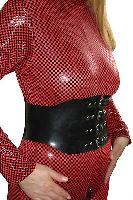 Taillengürtel  aus Gummi zu Latexbekleidung etc. Taillenkorset 72 - 80 cm Umfang 2