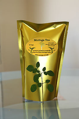 Queensland Grown Green Moringa Leaf Tea Certified Australian Made & Owned