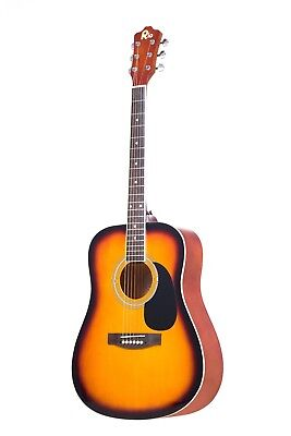Rio 41'' Full Size 4/4 Beginner Dreadnought Acoustic Guitar Pack Package SB 2