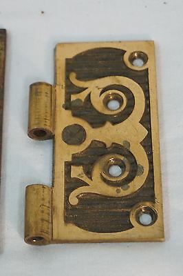 Antique Door Hinges Aesthetic Hardware Victorian Lot Steeple 1877 Singles 7