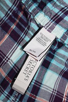 NWT Victoria's Secret Multi-Color Cotton Blend Pajama Pants sz XL 6