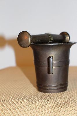 Mörser Schlegel Stössel antik Pistill Küche Pulver Deko Tabletten #6254 8