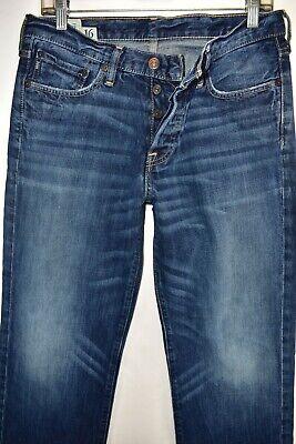 Abercrombie Fitch Kilburn Low Rise Boot Cut Boys Men Jeans Size 16 Meas 30x31 2