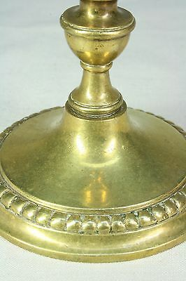 Pareja de candelabros de bronce. S.XIX