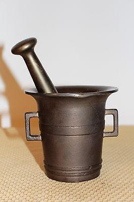 Mörser Schlegel Stössel antik Pistill Küche Pulver Deko Tabletten #6254 6