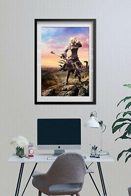 Final Fantasy 14 Online: Shadowbringers Poster - Y'shtola Render Art 4