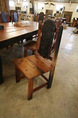 TISCH UND ZEHN Stühle riesig afrikanisch Teak Altholz massiv