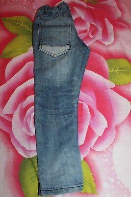 Hose kinder Hose Jeans gerissen von DOPODOPO Gr. 110 Top wie NEU mit Stickerei 4