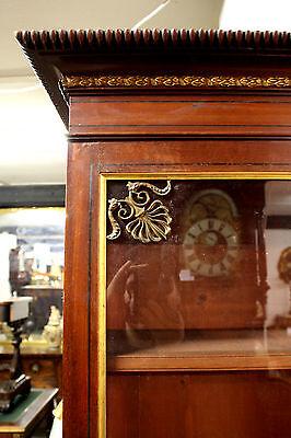 A Georgian Glazed Top Bookcase Of Unusual Form 5