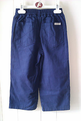 Gorgeous Navy Blue Chino Style Trousers from Hamilton, Age 4 yrs - BNWT!! 2