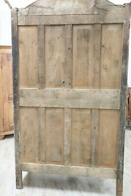 18th Century French antique Louis XV Walnut Carved Wardrobe or Armoire 10