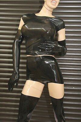 LATEXVERTRIEB, Latex Hot Pants, unisex 2