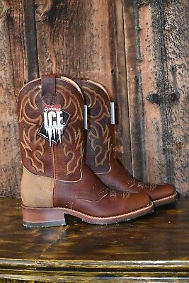 792751fa5dc DOUBLE-H BOOTS SNAKEBITE Saddlevamp Western DH4626 Cowboy size 8.5D
