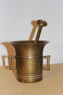 Mörser Schlegel Stössel antik Pistill Küche Pulver Deko Tabletten #6252 7
