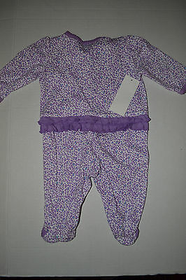 bf3d6951a CHILD OF MINE by Carter s Infant Baby Girls Pajamas SIZE NB 0- 3 NWT ...
