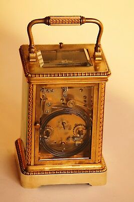 Very fine French Repeating Carriage Clock. in good conditions 3