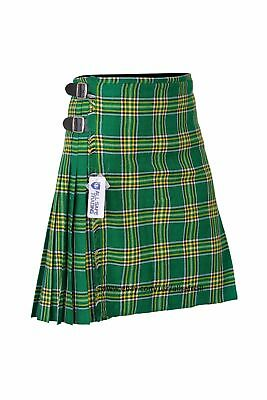 KIDS BOYS, GIRLS 13-Oz Casual Wear Formal Wear Scottish Tartan Kilt 4 Tartans