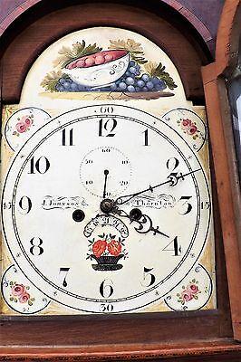 Georgian 8 day Grandfather Clock 5