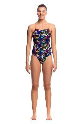 Funkita Girls Miss Foxy Single Strap One Piece Swimsuit FS16G02190 Swimwear