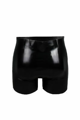 Bondage Fetish Rubber Latex Shorts Pouch 5230 Gimp Gay Erotic Sexy Catsuit 3
