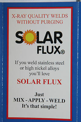 SOLAR FLUX TYPE B For Stainless Steel Welding, TIG MIG SMAW, FREE SHIPPING 1 lb. 2