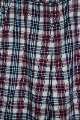 NWT Victoria's Secret Multi-Color Cotton Blend Pajama Pants sz XL 2