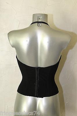 luxueux corset pigeonnant noir ERES taille 95C NEUF SANS ÉTIQUETTE valeur 270€ 3 • EUR 134,91
