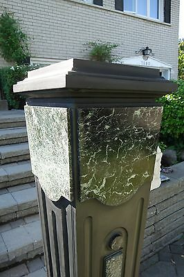 French Art Deco Period Monumental Marble/Slate Pedestal 8