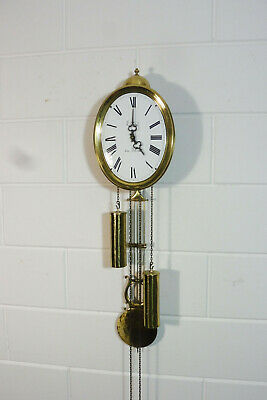 Comtoise Wall Clock Dutch Movement Vintage Old Clock 2