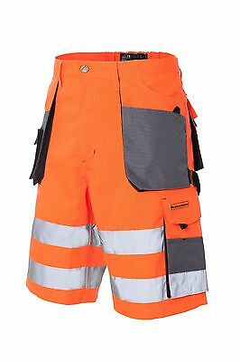 Leber/&Hollman Kurze Arbeitshose Sicherheitshose Schutzhose Hose NEU LH-FMN-TS-SBY