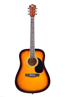 Rio 41'' Full Size 4/4 Beginner Dreadnought Acoustic Guitar Pack Package SB 4