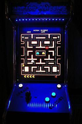 "Arcade Classics Spielautomat, 19 "" TFT ,Pac Man,Galaga,D.Kong,Frogger,S.Invaders"