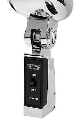 DJ PA Vintage Gesangs Mikrofon Retro Mikro Live Mic Micro Ständer Kabel Set SL 5