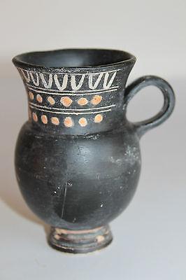 ANCIENT GREEK THISTLE MUG POTTERY 4th CENTURY BC