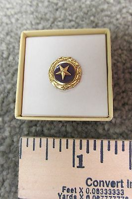 1 Of 12FREE Shipping Original Boxed Gold Star Mothers Vintage Military  Lapel Pin 1947 ACT Of Congress
