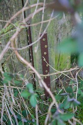 Post Buddy, The Original, Easy Fence Post Repair - 2 pack (fixes 1 broken post) 12