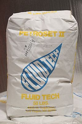 Petroset II Fluid Tech 50 lb Sorbent Solidification (26) 1300lbs