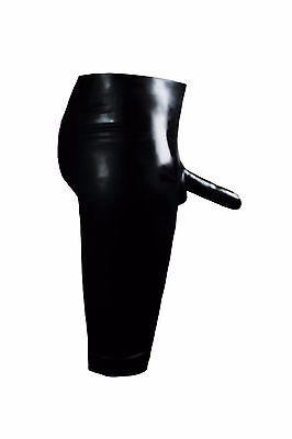 Red Fetish Bondage Latex Rubber Bermuda Shorts Sheath 5350 Gimp Slave Gay Dom 11