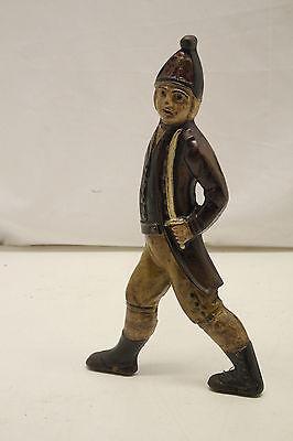 Cast Iron American Revolution Hessian Soldiers Andirons 5