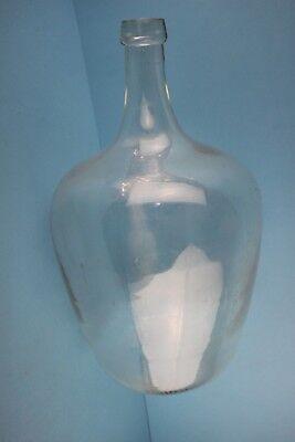 Alter  Glasballon Transparent Ca 10 Liter Nr 95