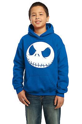 Nightmare Before Christmas Jack, Kids Unisex Hooded Sweatshirt Jumper Hoodie 3