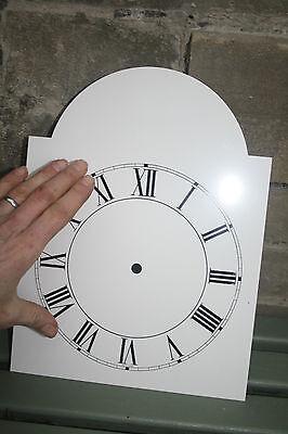 Vintage Enamel Style Clock Face   Replacement Painted On Aluminium Vvgc 3