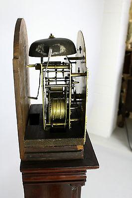 A Mahogany Grandmother Clock By John Walker London 8
