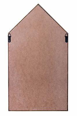 Storage Floating Unit Wall Cube Key Letter Rack Display Wooden Shelf House Shape 6
