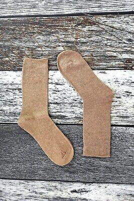 IOMI - Mens 6 Pack Wide Loose Top Non Binding Elastic Cotton Crew Diabetic Socks 3